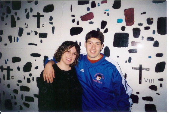 Our First Photo Together - December 2002